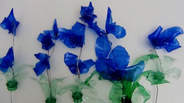 blaue blumen - Blue flowers - Flores azules - design101