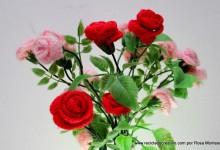 Flores de Crochet o de ganchillo