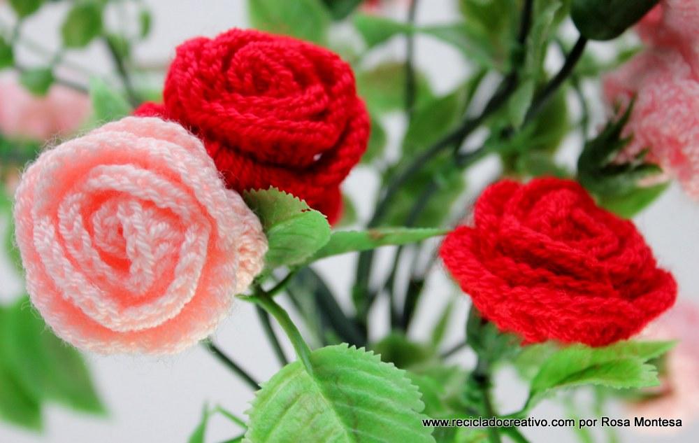 Flores Ganchillo. Top Broches Con Flores Ganchillo With Flores ...