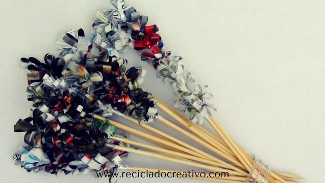 Flores de papel reto HandBox#micatalogoopitecahoraes #desafioopitec reciclado creativo