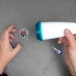 Cómo hacer un caleidoscopio con material reciclado. Reciclado Creativo