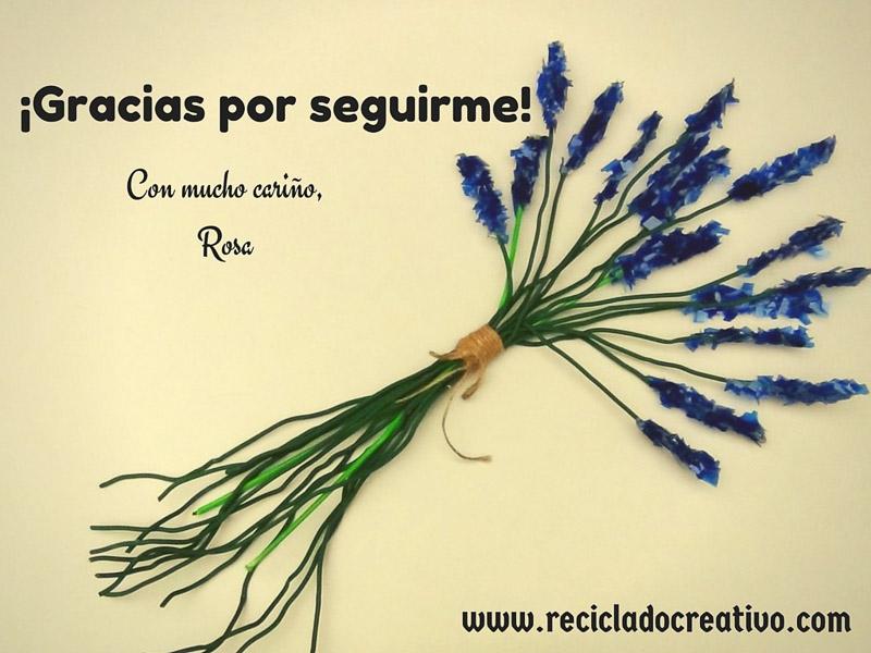 Gracias por seguir RecicladoCreativo.com