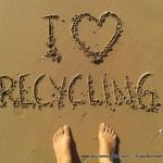 I love Recycling - Me gusta reciclar - Rosa Montesa - Reciclado Creativo