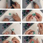 Cómo hacer un colgante con la parte de la rosca de una botella de plástico