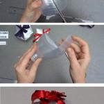Cómo hacer una caja de regalo con forma de copa con una botella de plástico reciclada