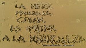 La mejor manera de crear es imitar a la naturaleza Frases de Reciclado Creativo