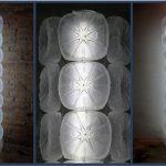 Lámpara realizada con garrafas de plástico recicladas pet by Rosa Montesa - Lamps made out of recycled plastic bottles RecicladoCreativo RosaMontesa
