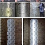 Lámpara realizada con garrafas de plástico recicladas pet by Rosa Montesa - Lamps made out of recycled plastic bottles