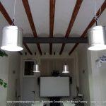Recycled Tin Can Lamp - Lámpara con bote de metal reciclado - Reciclado Creativo - The Reuse Factory