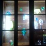 Máscaras de Franco Reyes Exposició #rehogar Solucions per a l'habitat a partir de residus