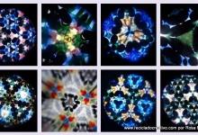 Infografía, cómo hacer un caleidoscopio con dos vasos de starbucks http://youtu.be/H56whP7lwcw