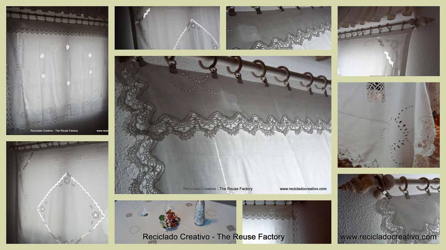 Reutilizando de manteles a preciosas cortinas - Como hacer una manteleria ...