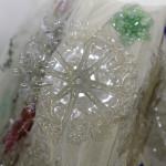 Falda Traje de Valenciana #ecofallera con botellas de plástico
