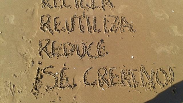 Recicla, reutiliza, reduce ¡Sé creativo! Reciclado Creativo Rosa Montesa
