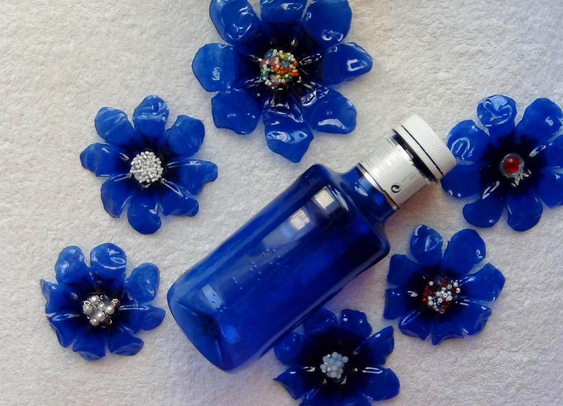 Cómo Hacer Una Flor Con Una Botella De Plástico Verde Y Una