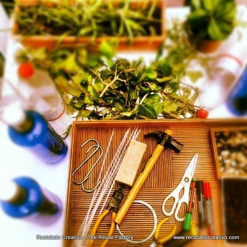 recycled plastic bottles gardening (6)