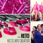 Reto de Reciclado Creativo con botellas de plástico
