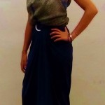 Cómo hacer una elegante blusa sin coser - Blouse stitch free